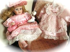 Vintage  Doll  Victorian Style Doll by Mydaisy2000 on Etsy, $56.00