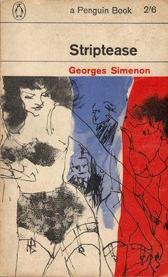 Striptease, Georges Simenon. Design by Romek Marber.