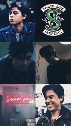 Read Moodboards - Sweet Pea from the story South Side Serpents Preferences by (South Side Serpents) with reads. Sweet Pea Riverdale, Riverdale Archie, Bughead Riverdale, Riverdale Funny, Riverdale Memes, Cenas Teen Wolf, Riverdale Wallpaper Iphone, Cole M Sprouse, Riverdale Cole Sprouse