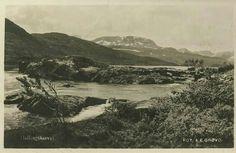 Buskerud fylke Hol kommune i Hallingdal Hallingskarvet. Utg Grøvo.