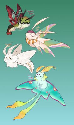 by toripng on DeviantArt - My best shares Cute Fantasy Creatures, Mythical Creatures Art, Mythological Creatures, Cute Creatures, Magical Creatures, Cute Animal Drawings, Cute Drawings, Kawaii Drawings, Wolf Drawings