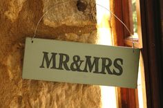 Great for weddings and couples young and old.  Handmade in Wales wooden sign - from thebrocante.co.uk