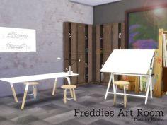 Freddies Art Room by Angela at TSR • Sims 4 Updates