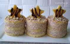 Kaštanové dortíčky French Toast, Muffin, Pudding, Breakfast, Food, Hampers, Morning Coffee, Custard Pudding, Essen