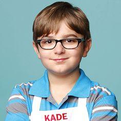 Official MasterChef Junior photo of Kade. So proud of him!!! Season 4 Nov 6th