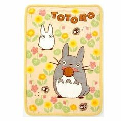 "Amazon.com - Studio Ghibli My Neighbor Totoro Design Polyester Throw Blanket (Size: 55"" x 39"")"