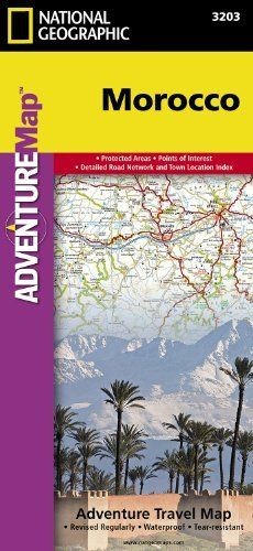 Morocco (Adventure Travel Map) by National Geographic (Adventure Map) by National Geographic Maps. $11.95. Series - Adventure Map (Book 3203). Publisher: Natl Geographic Society Maps; 1 edition (August 15, 2011). Publication: August 15, 2011