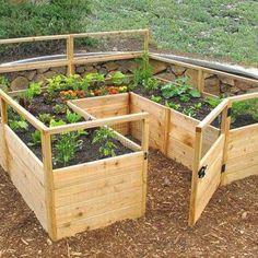 Beautiful diy raised garden beds ideas 21