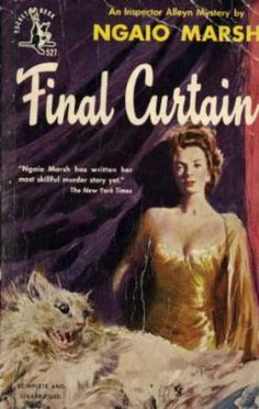 """""""Final Curtain"""" by New Zealand author Ngaio Marsh. Pocket Books. Part of her Inspector Alleyn mystery series."""