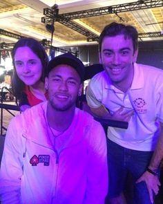 Ney com a equipe Pokerstars ❤❤❤ #neymar #neymarjr