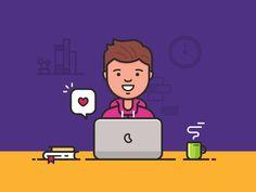 Happy freelance designer 2x
