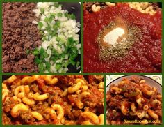 Easy Chop Suey Recipe by #sistersknowbest #recipes #comfortfood