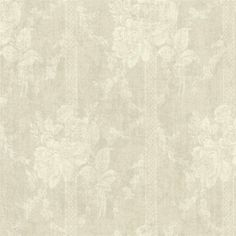 Done in dreamy, soft taupe and rich ivory, this paper has an embroidery-like appearance. The background and the pattern have a fabric appearance that enhance the softness of the design. This wallpaper is unpasted, washable and strippable. | eBay!