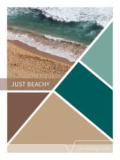 Turquoise waters and earthy brown sands. An refreshing color palette. Turquoise waters and earthy brown sands. An refreshing color palette. Bathroom Color Schemes, Kitchen Colour Schemes, Earthy Color Palette, Colour Pallette, Tan Bathroom, Bathroom Cabinets, Bedroom Turquoise, Turquoise Bathroom, Pintura Exterior