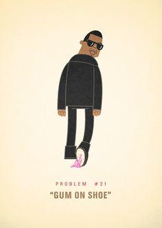 Problem #21: Gum On Shoe