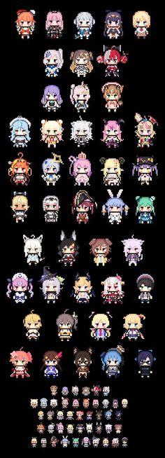 Manga Anime Girl, Anime Child, Anime Art, Kawaii Girl, Kawaii Anime, Minecraft Pixel Art, Anime Expressions, Fantasy Character Design, My Spirit Animal