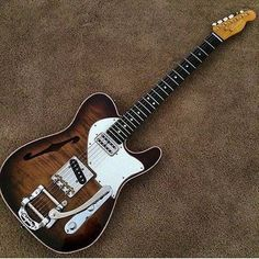 Fender Telecaster with #Bigsby vibrato