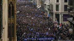 """Marchas en la UE: """"¡No a la Europa Fortaleza!"""""""