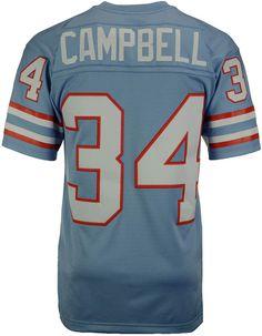 Mitchell   Ness Men s Earl Campbell Houston Oilers Replica Throwback Jersey  Men - Sports Fan Shop By Lids - Macy s 78ea3225767c