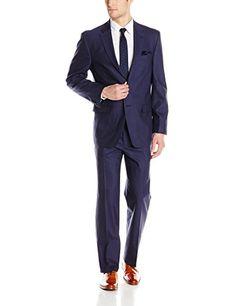 Tommy Hilfiger Men's Vasser Solid 2 Button Side Vent Suit, Royal Blue, 42 Long Tommy Hilfiger http://www.amazon.com/dp/B00UOVLOXW/ref=cm_sw_r_pi_dp_jBhDwb17X4DM0