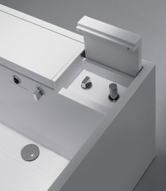cosmic bathtub upgrade 2 Zen Like Bathroom collection from Cosmic   the Upgrade minimalist bathroom with hidden controls