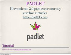 Tutorial para aprender a utilizar Padlet