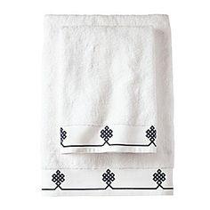 Gobi Bath Towels in Navy - Serena & Lily - $24.00 - domino.com