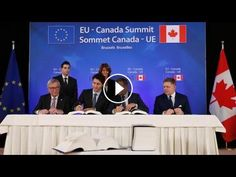 Canada, EU leaders sign controversial trade deal in Brussels: The European Union and Canada have signed the landmark Comprehensive Economic…
