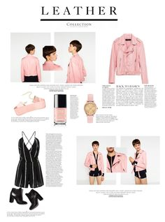 """Pretty in pink!"" by elegantpink ❤ liked on Polyvore featuring Piel Leather, Anja, Pierre Hardy and Ted Baker"