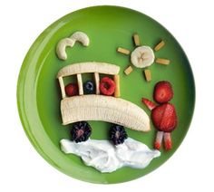 Fun, Healthy, Silly, Creative Food for Adults & Children. So many ideas.