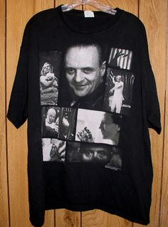 Silence Of The Lambs T Shirt Vintage 1991 Orion Hanniba