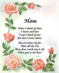 Mom When I Think Of You mom mothers day mother family quotes mom quotes happy mothers day happy mothers day pictures mothers day quotes happy mothers day quotes mothers day quote mothers day Short Mothers Day Poems, Mum Poems, Love You Poems, Happy Mothers Day Wishes, Happy Mothers Day Images, Mother Poems, Mothers Day Pictures, Happy Mother Day Quotes, Happy Mother's Day Greetings