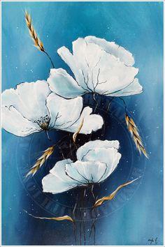 Die 1017 Besten Bilder Von Acrylbilder Blumen Painting Flowers