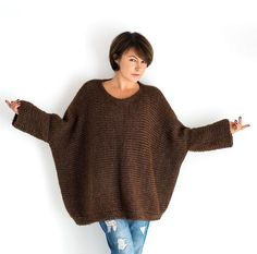 Christmas gift ideas wrap.women accessories poncho hand made gift size SM hand knit cape gift under 30