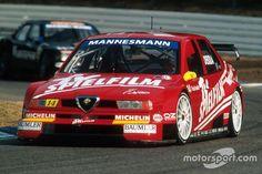 Giancarlo Fisichella, Alfa Romeo 155 V6 Ti at ITC: Hockenheim