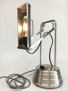 Antique Steampunk Lamp Antique Sun Kraft by ModernArtifactDecor