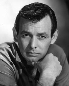 actor David Janssen   star of the TV series The Fugitive--I loved him!  Harry O was a terrific show, better than the Fugitive