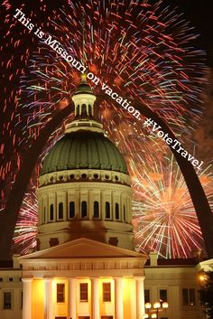 This is Missouri on vacation. #VoteTravel (Take your own vacation to the Missouri Capitol, Jefferson City: http://www.VisitMO.com.)