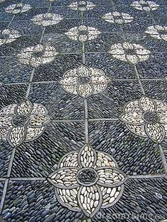 Garden Paving by Joanneblm, via Dreamstime More Pins Like This At FOSTERGINGER @ Pinterest