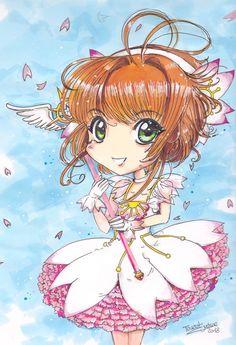 Sakura Card Captor  #Fanart #CCS Justine, Illustration, Fanart, Creations, Anime, Cards, Fan Art, Cartoon Movies, Illustrations