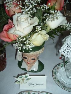Ladies luncheon ... place setting idea :)
