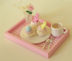 Easter tray by Asakomini