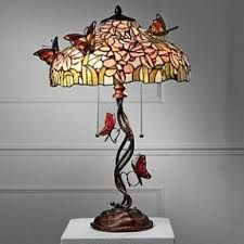 2cd439649db Image result for pink blossom stained glass Stained Glass Table Lamps