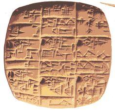 Escritura cuneiforme. Babilonia