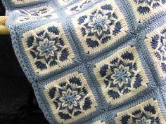 Unique+Crochet+Patterns | Crochet Pattern Leaflet AMAZING STAR AFGHANS Very Unique! - Afghans