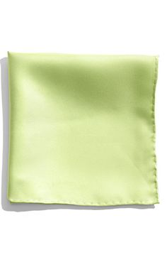 $19, Olive Pocket Square: Nordstrom Silk Twill Pocket Square Light Green One Size. Sold by Nordstrom. Click for more info: https://lookastic.com/men/shop_items/228456/redirect