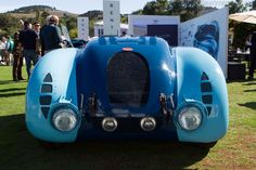 Bugatti Type 57 G Tank (Chassis 57335 - 2013 The Quail, a Motorsports Gathering) High Resolution Image
