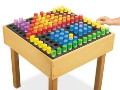 Light Table Pegs & Pegboard - 4 Sets  - as seen on The Ultimate Light table guide