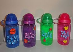 Toddler Water Bottle (BPA free) - party favor