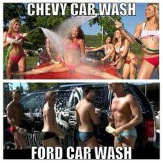 Chevy Truck Carwash